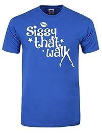 Men's Inspired By Rupaul's Drag Race Sissy That Walk T-shirt Blue