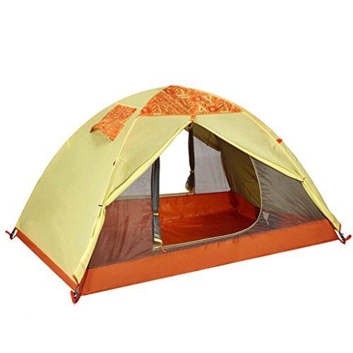 Tente extérieure 2-3 personnes Voyage camping Tentes imperméables 2.9㎡