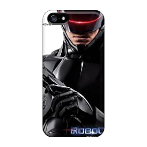 Fashion Protective Robocop Case Cover For Iphone 5/5s