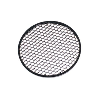 Hex Cell Louver in Matte Black Size: 3.75