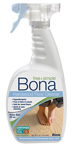 Bona Free & Simple Hardwood Floor Cleaner - 36oz Spray