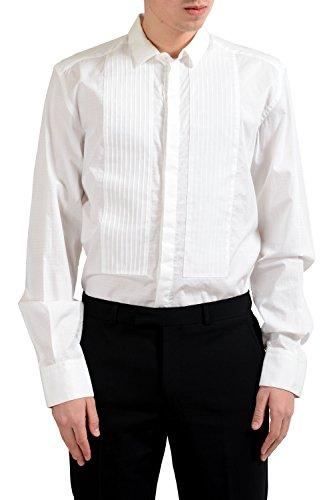 Dolce & Gabbana Martini Men's Tuxedo Long Sleeve Dress Shirt US 16.5 IT 42; (Gabbana Dolce Tuxedo &)