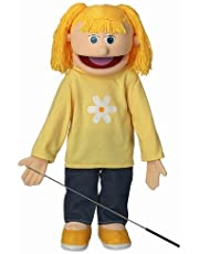 ''Katie'', 25In Full Body Puppet, Peach -Affordable Gift for your Little One! Item #DSPU-SP2521