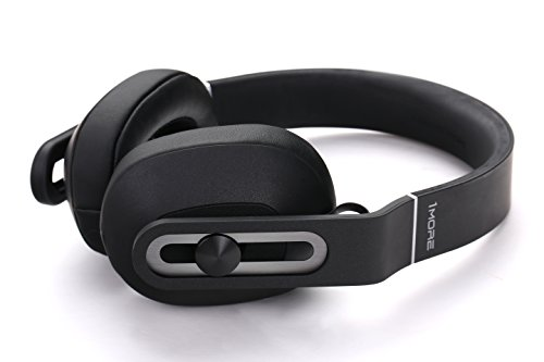 1MORE-Over-Ear-Headphones-Bass-Driven-Comfortable-Earphones-with-Lightweight-Durable-Supercar-Design-Noise-Isolation-Microphone-and-Volume-Control-SmartphonesPCTablet-MK801-Black