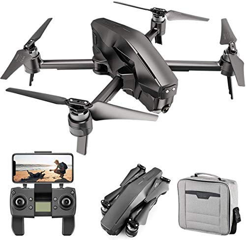 4DRC M1 Foldable GPS Drone with 5G Transmission WiFi 4K FHD Camera for Adults, Quadcopter with Brushless Motor, Auto…
