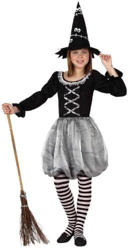 Atosa - Disfraz de bruja para niña, talla 5-6 años (15250): Amazon ...