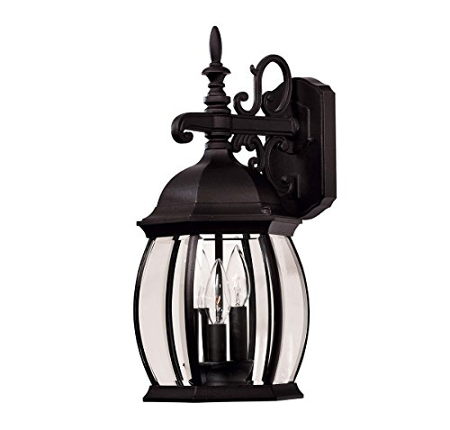 Mission Exterior Sconce - Savoy House 07071-BLK 11