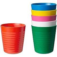 """Set bicchieri """"Kalas"""" Ikea. Confezione da 6, adatti al microonde e alla lavastoviglie"""