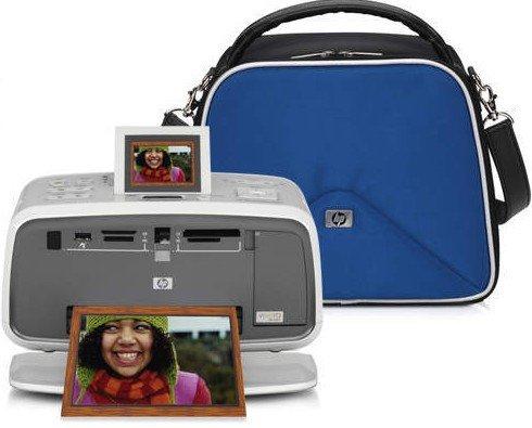 HP A712 PhotoSmart Compact Photo Printer by HP