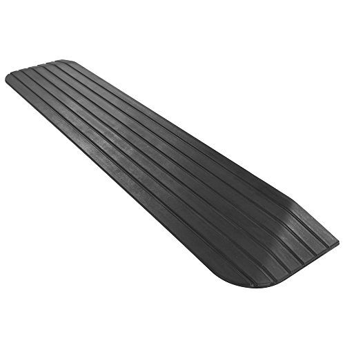 """Discount Ramps Silver Spring 1"""" Solid Rubber Power Wheelc..."""