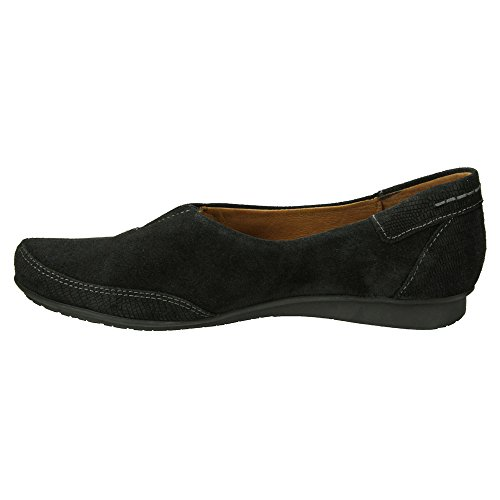 Taos Calzature Donna In Pelle Marvey Slip On Black