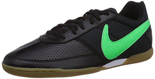Nike Davinho 580452 Herren Fußballschuhe Schwarz (Black/Poison Green-white)