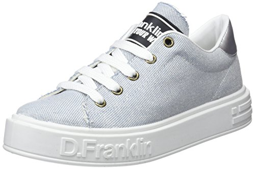 Basse da D Franklin Donna Gumme Blu Jeans Ginnastica Jeans Scarpe OIUYIq1