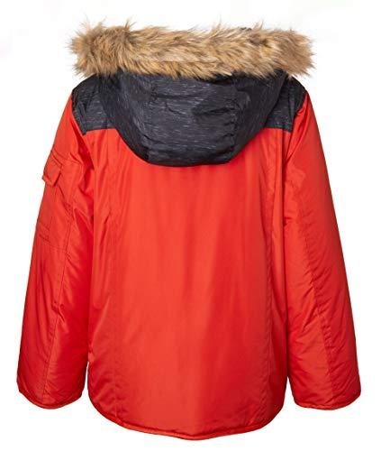 a8fe6ace7 Jual Sportoli Boys  Fleece Lined Hooded Colorblock Winter Puffer ...