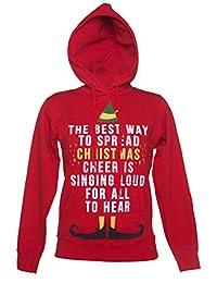 Womens Elf Christmas Cheer Hoodie