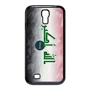 flag of iraq Samsung Galaxy S4 9500 Cell Phone Case Black xlb2-091697