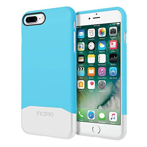 Incipio Apple iPhone 7 Plus / 8 Plus Edge Chrome Case - Sky Blue/Silver from Incipio