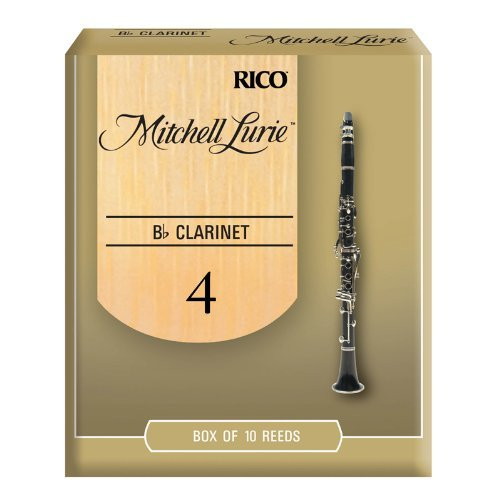 Mitchell Lurie Bb Clarinet Reeds  Strength 4 0  10 Pack