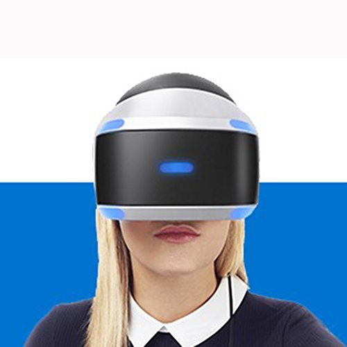 zhang With Eye Protection VR Headset 3D Glasses 360 HD Immersive Virtual Reality Helmet Glasses Video Game Handle For Iphone 7, Samsung S6, 4.0-6.1 Inches PS4 Set PSVR PS4VR