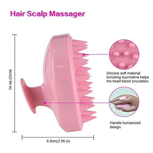 Hair Scalp Shampoo Brush, Scalp Perfect for Men, Women, and Pets