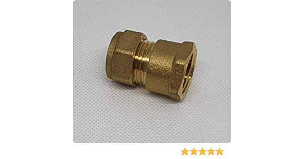 90 ° ángulo-Unión roscada conectores aro compresión