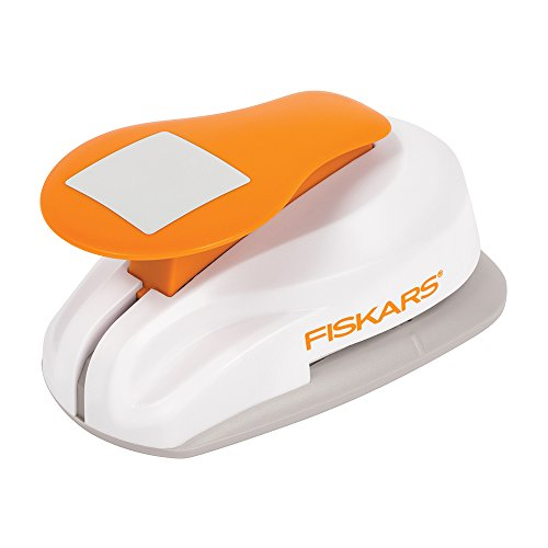 Fiskars Lever Punch Square Planner Punch (1.8125 X 1.8125 Inch)