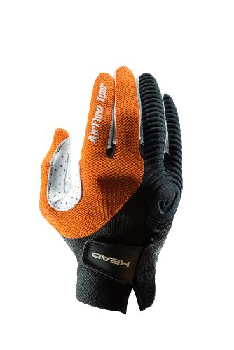 HEAD Airflow Tour Racquetball Glove, Right Hand, Large