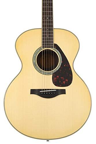 Yamaha L-Series LJ6 Jumbo Acoustic-Electric Guitar with Gig Bag - Natural -