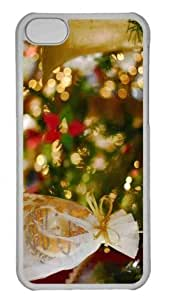LJF phone case Customized iphone 6 plus 5.5 inch PC Transparent Case - Yummy Christmas Personalized Cover