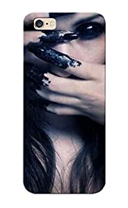 Pirntalonzi 611e9d52910 Case Cover Iphone 6 Plus Protective Case Girl With Black Hand( Best Gift For Friends)