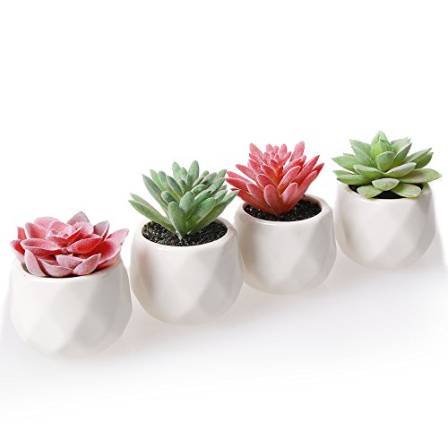 Artificial Plants Amyhomie Set Of 4 Mini Fake
