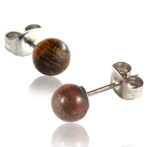 wood earrings - 7