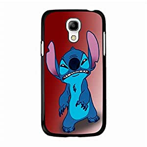 Samsung Galaxy S4 Mini Moulded Cover Case with Creative Stitch Stitchs Animation Print,Cartoon Series Stitch Stitchs Logo Cell Phone Case