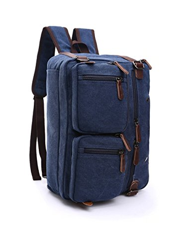 Greenpromise Azul al hombro de Bolso hombre para Lona rqaxwr0Z1