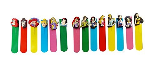 AVIRGO 14 pcs Magnetic Bookmarks Page Markers Colorful Set # 204-16