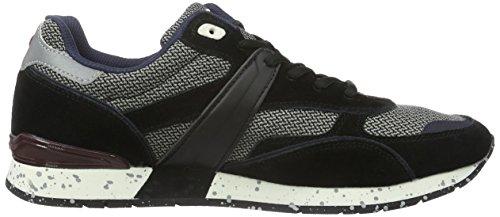 Uomo Nero schwarz Sneaker black Napapijri Rabari N00 Basse tqAwRfP ef51e26d506