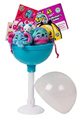 Pikmi Pops are the big lollipops filled with cute mini-plushies and so many sweet surprises for you!  Each Pikmi Pops Surprise Pack comes with 2 (two) scented* mini plushies, 4 (four) surprise items, 2 (two) surprise messages, 3 (three) dangl...
