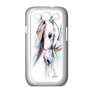 Horse racing Case Cover Best For Samsung Galaxy S3 FKLB-T512624