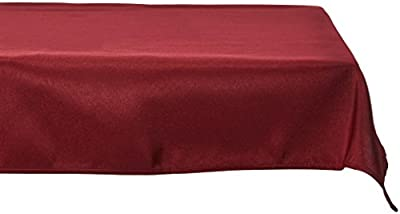 LinenTablecloth 60 x 126-Inch Rectangular Polyester Tablecloth