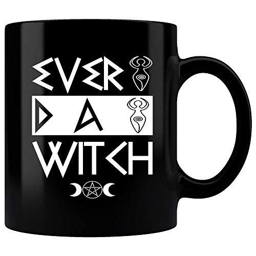 Every Day Witch Mug, Cute funny witch Mug, symbol of Halloween mug, Perfect gift for any Halloween, witches mug, mystery mug, magic mug, spells mug, Coffee mug, Tea -
