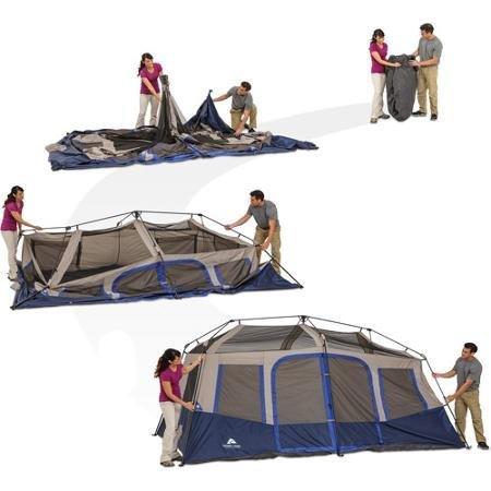 Ozark Trail 14 X 10 Instant Cabin Tent Sleeps 10 Wmt