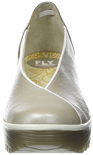 Fermé Yuca839fly Fly Argent London Escarpins Femme Offwhite Silver Bout pawfUx4q