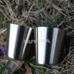 Funnytoday365 Polished Mini 35Ml Stainless Steel Wine Drinking Shot Glasses Barware Cup