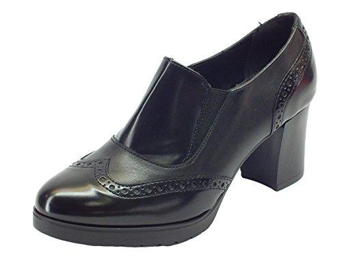 Cinzia Soft Women's Ial25931psb Nero Loafer Flats Black 8ckrf0r