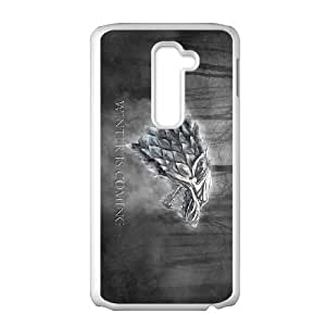 LG G2 Cell Phone Case White Winter is coming T4377006