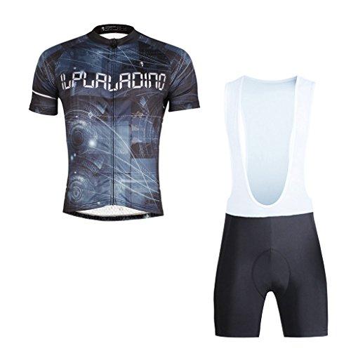 paladinsport-mens-black-short-sleeve-cycle-clothes-and-bib-shorts-set-size-xxxl