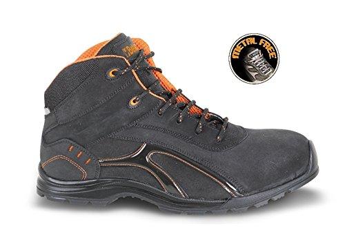 Beta 7350rp 45Knöchel Schuh aus Nubuckleder Kruste Leder, wasserdicht mit Gummi Außensohle und weiches PU Ring, 45Gr.