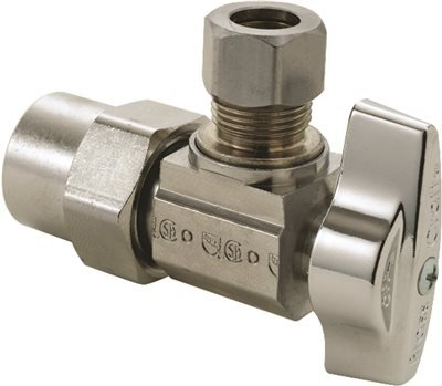 BRASSCRAFT KTPR19X C ANGLE STOP 1/2''NOM CPVC INLET X 3/8''OD COMP OUTLET (1/EA)