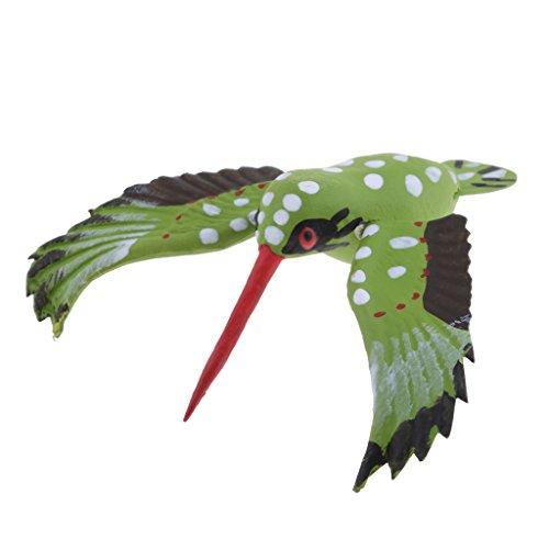 Fityle True to Nature Insect Animal Ornament Fridge Magnet Outdoor Patio Miniature - Hummingbird (Decoy Miniature)