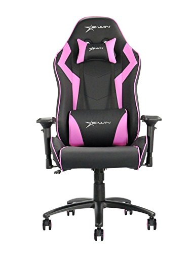 41o5MFVK yL - Ewin-Chair-Champion-Series-Ergonomic-Office-Swivel-Computer-Gaming-Racing-Chair-with-Pillows-CPA-BlackPurple